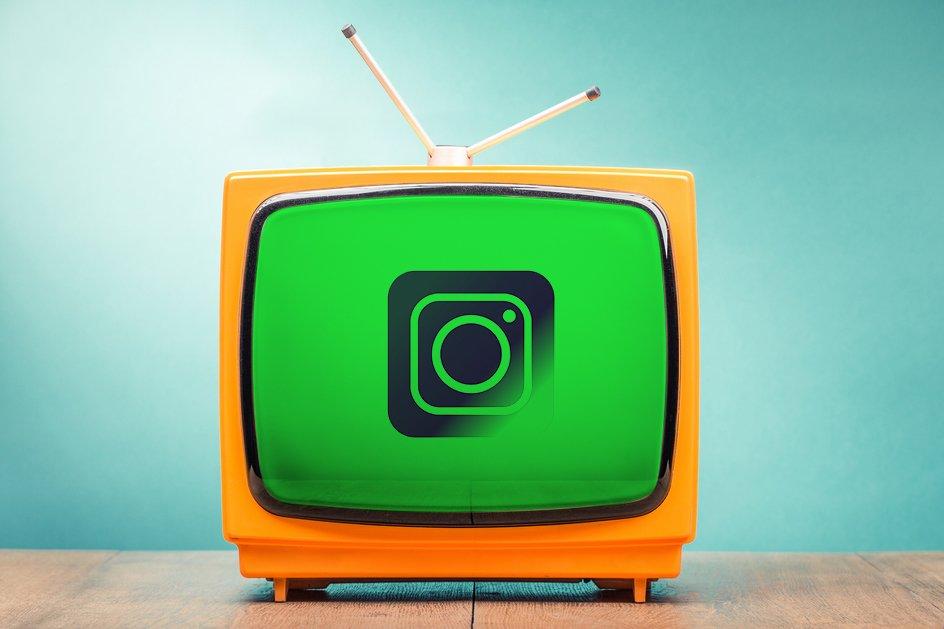 إنستغرام والشاشة الخضراء
