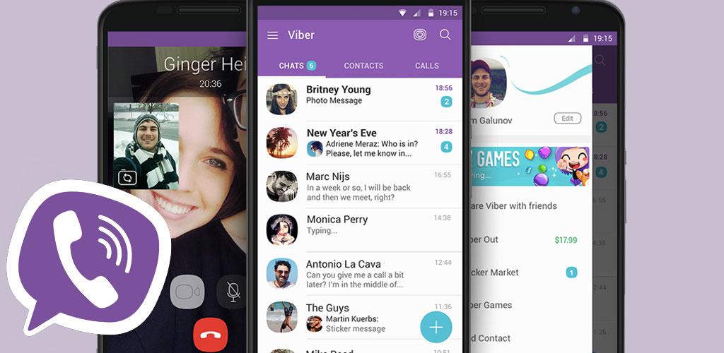 فايبر Viber messenger